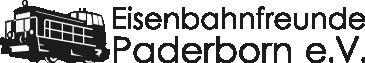 Logo Eisenbahnfreunde Paderborn